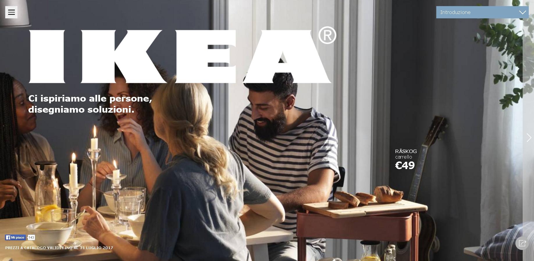 sfoglia gratis il catalogo ikea 2017. Black Bedroom Furniture Sets. Home Design Ideas