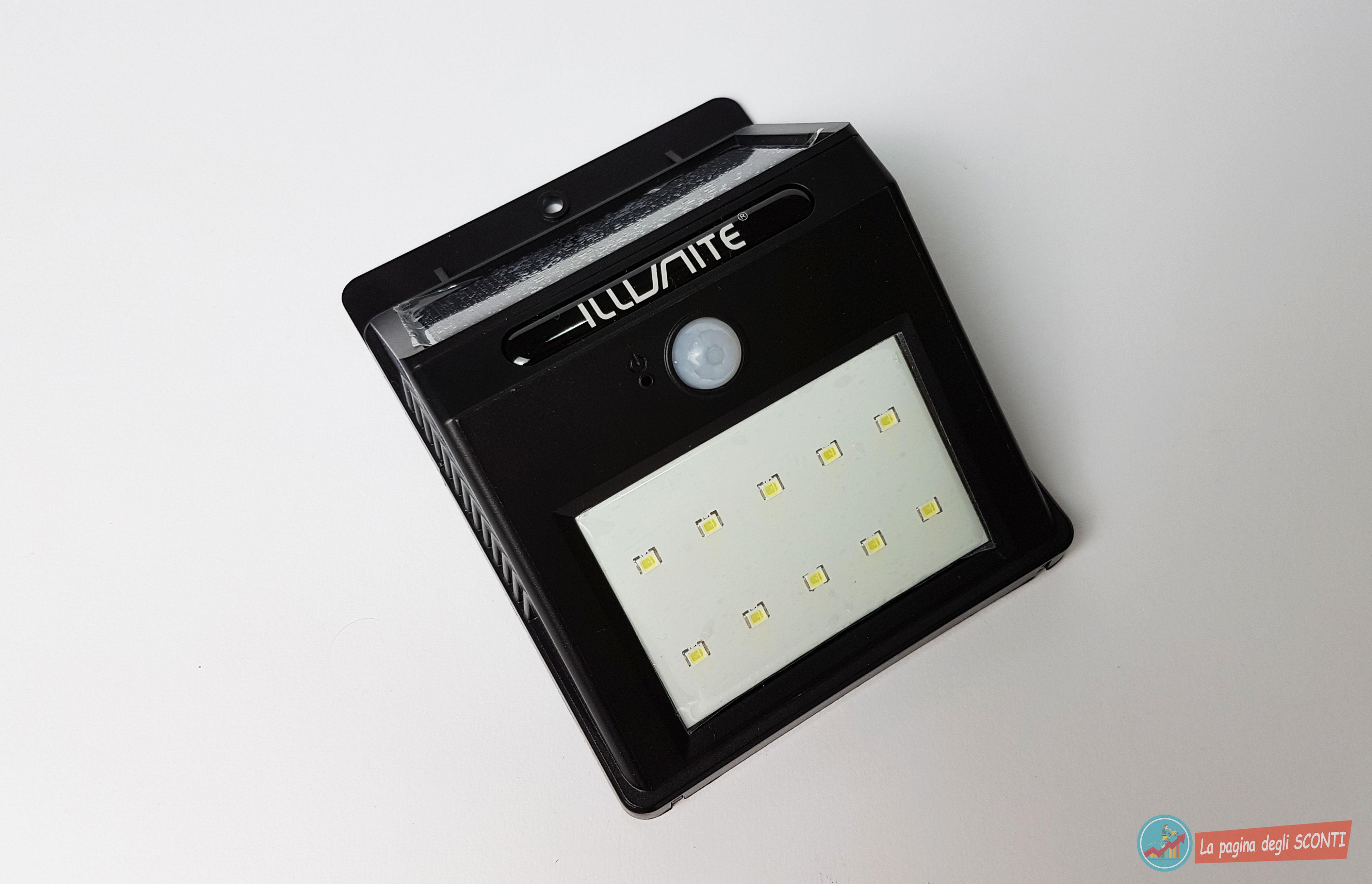 Recensione lampada led da giardino con sensore di movimento e