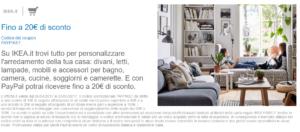 Buoni Sconto Ikea Da 10 E 20 Acquistando Con Paypal