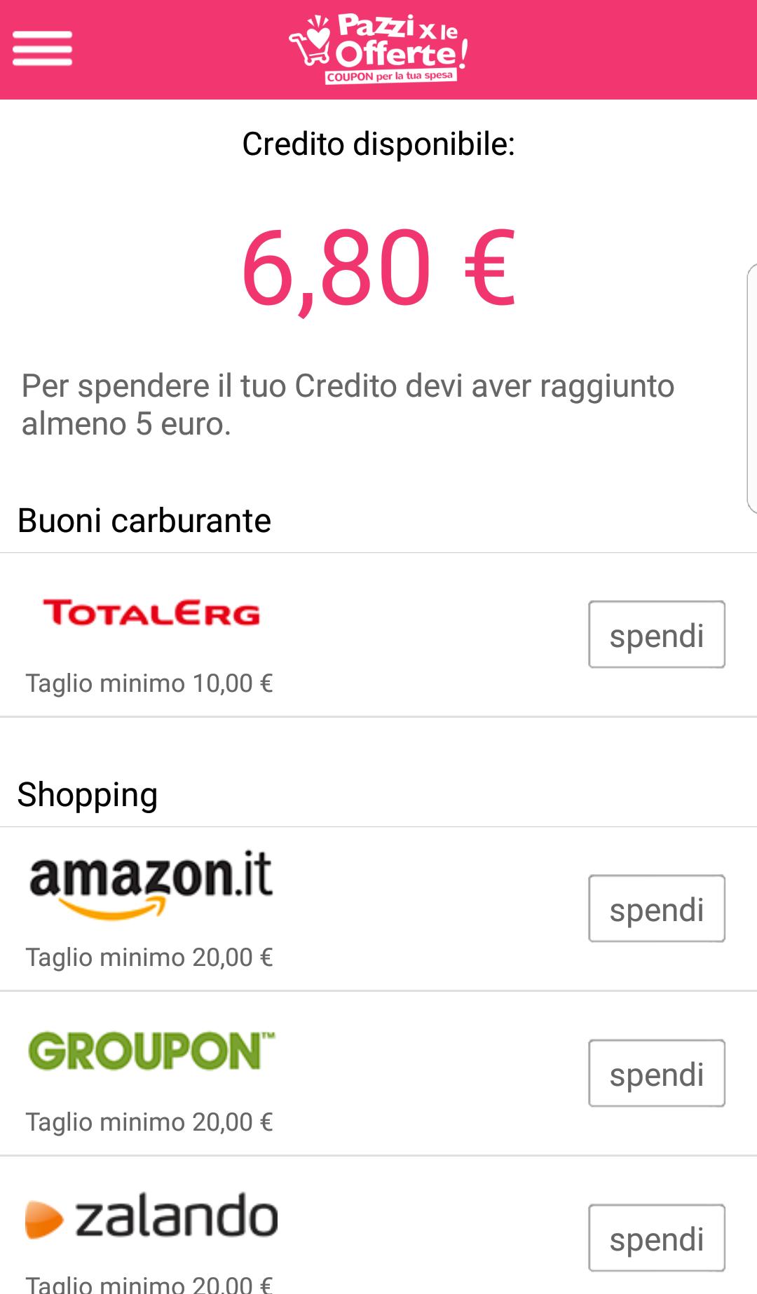 Edenred e coupons