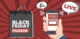 Black Friday 2018 canali Telegram