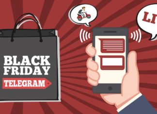 Black Friday 2018 canali Telegram