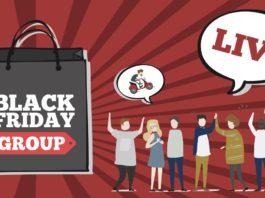 Black Friday gruppo Facebook