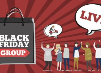 Black Friday gruppo Facebook