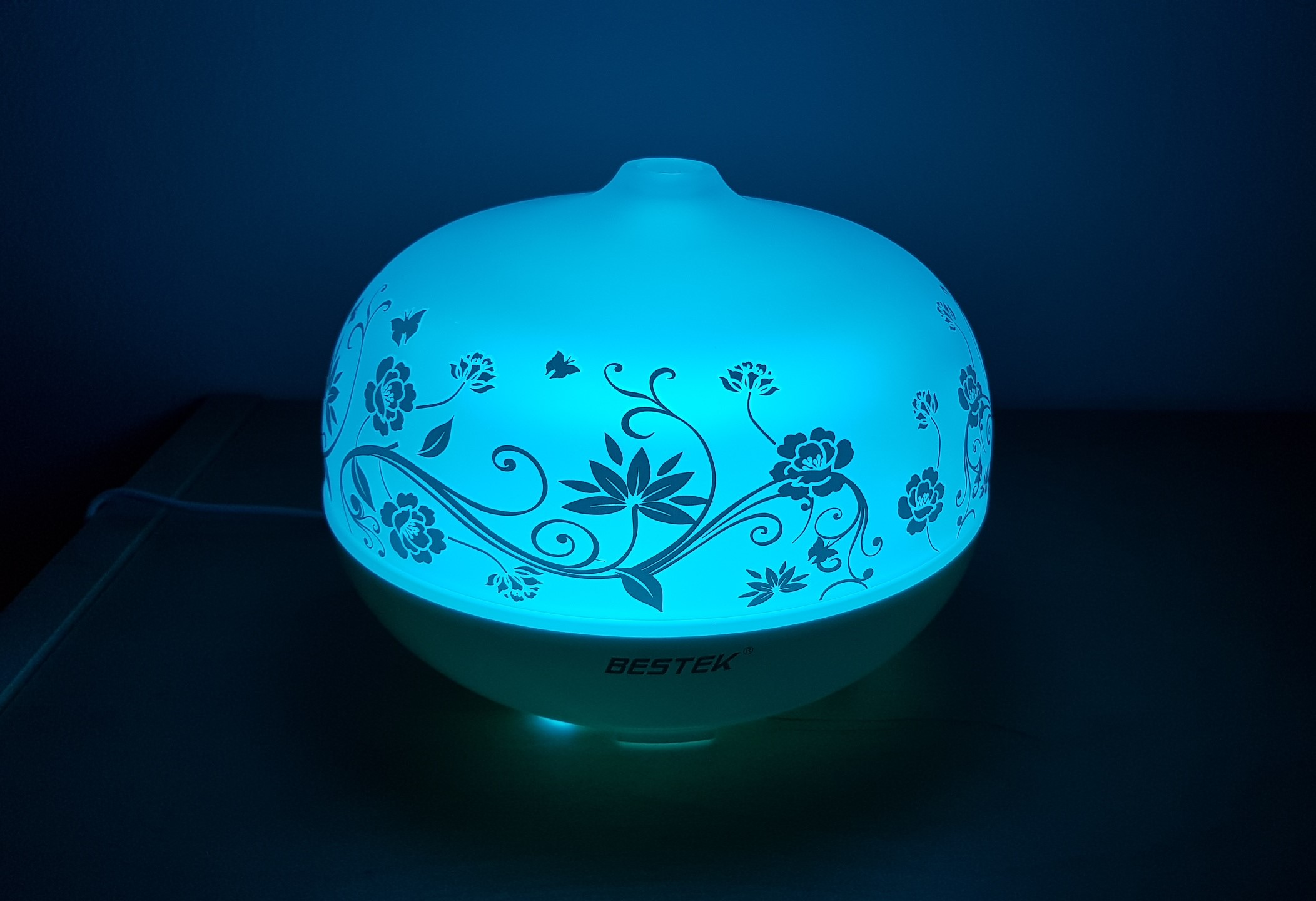 recensione diffusore di aromi e oli essenziali in vetro bestek
