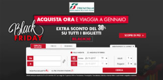 Black Friday Trenitalia