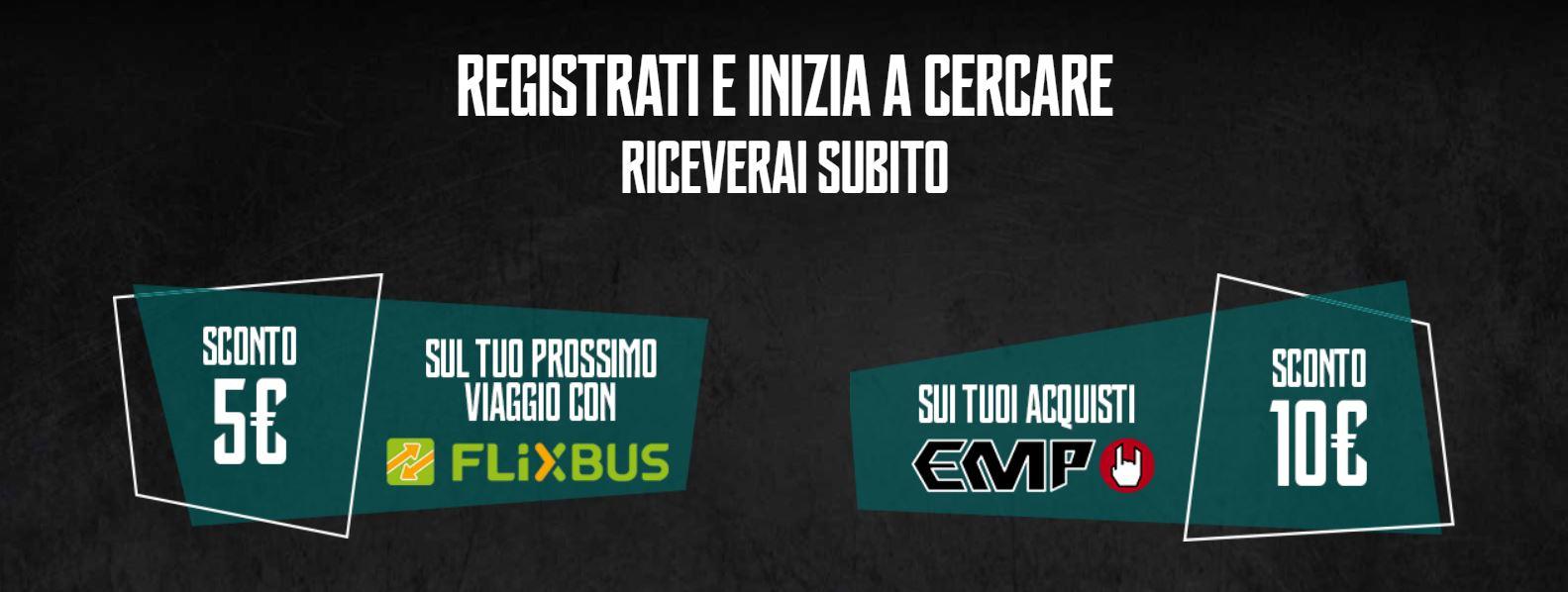 Buono sconto 5€ Flixbus