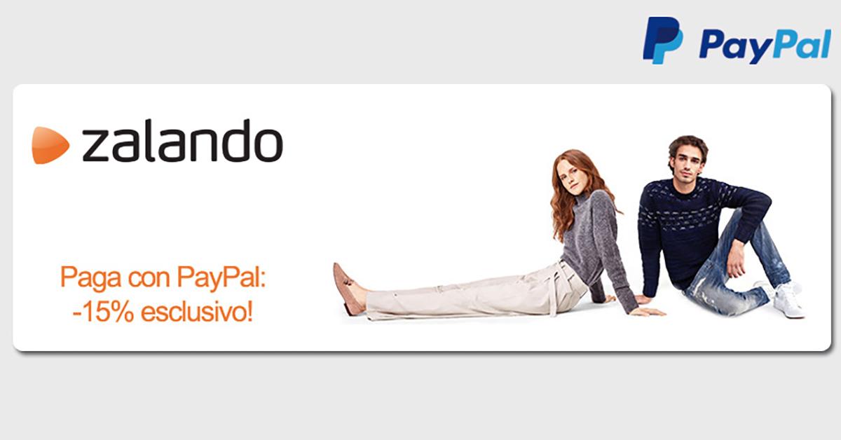 Grazie Al 15 Zalando Codice Del Dicembre Sconto Paypal Fino 24 A twX8XSOq