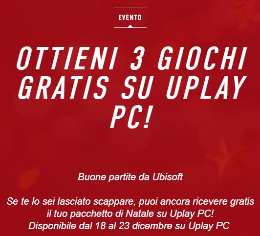 Natale 2017 Ubisoft