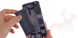 Apple: sostituzione batteria
