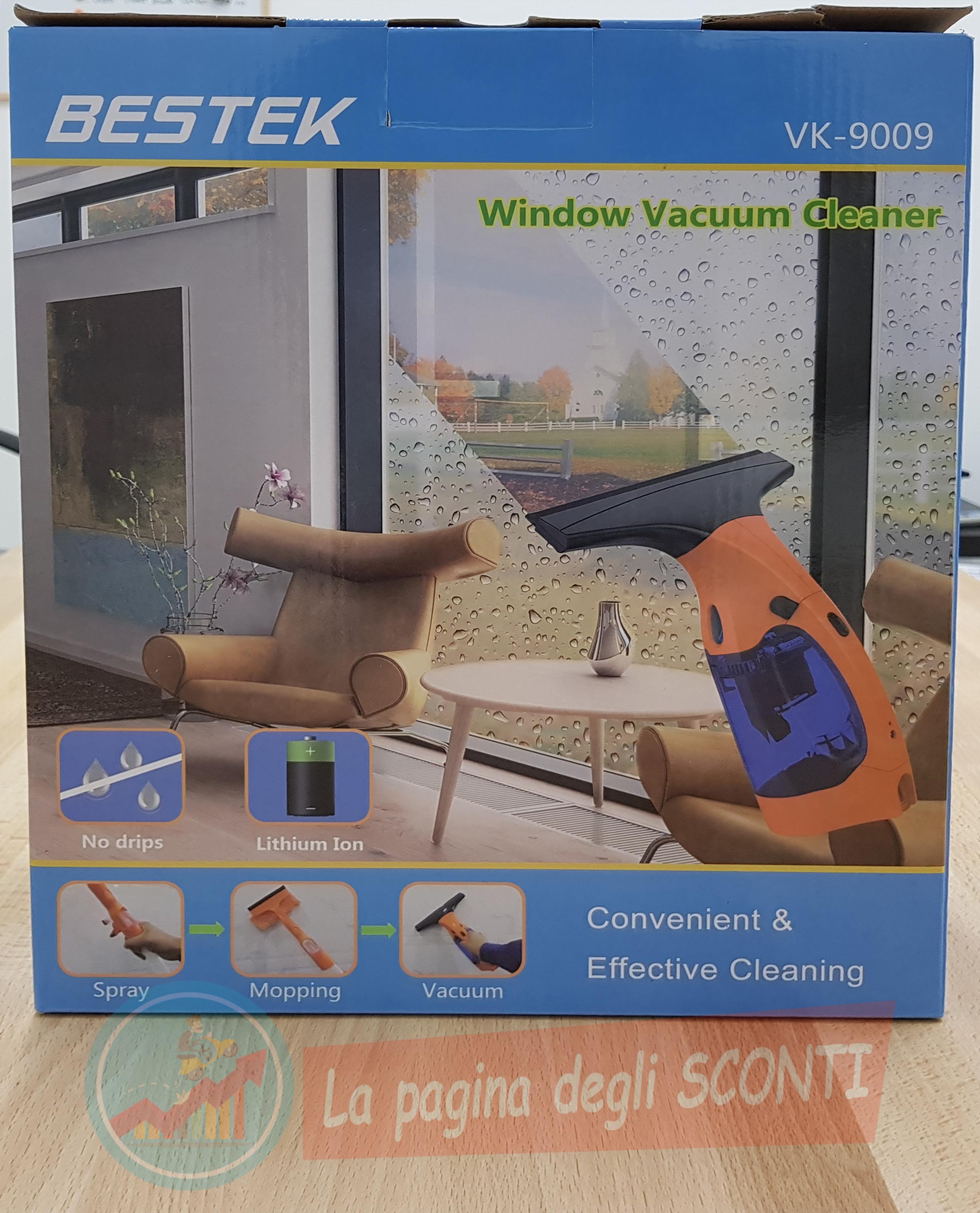 aspirapolvere per finestre Bestek
