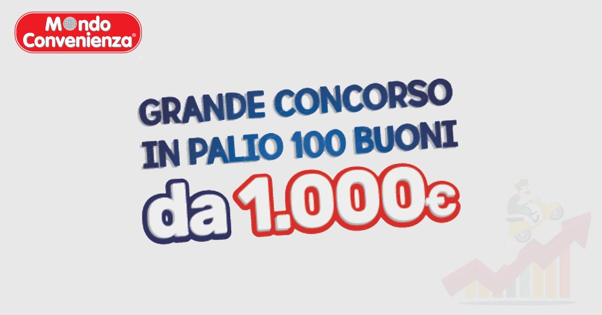 Vinci un buono da 1000€ con il nuovo catalogo Mondo Convenienza!