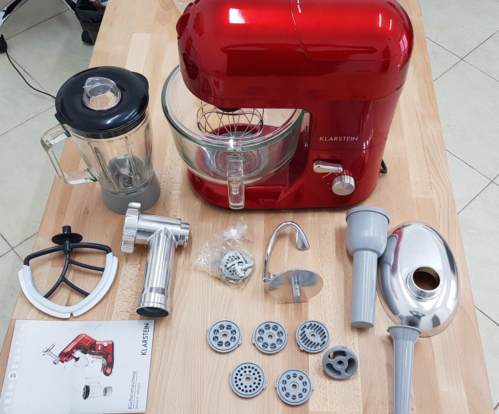 Recensione Robot da Cucina Impastatrice Planetaria Klarstein Lucia