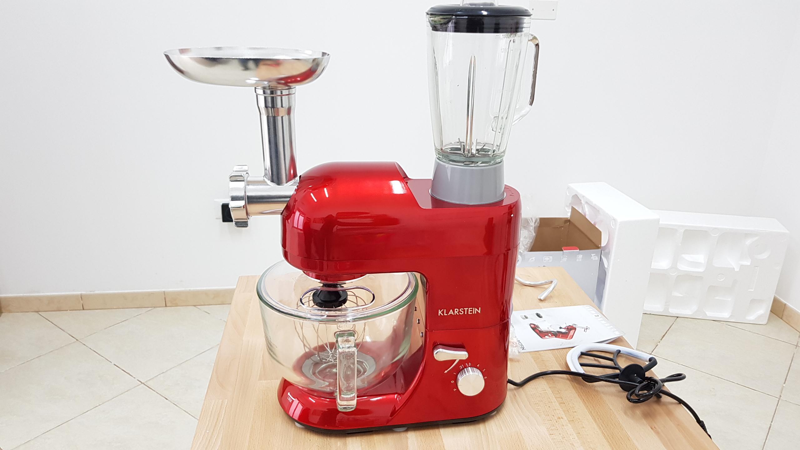 Recensione robot da cucina impastatrice planetaria - Robot da cucina usati ...