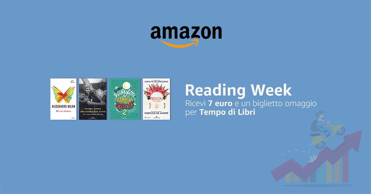 Arriva l 39 amazon reading week grazie a cui verrete for Coupon libri amazon