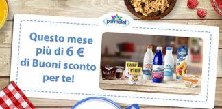 buoni sconto Parmalat di Marzo 2018