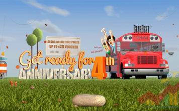 GearBest 4th Anniversary