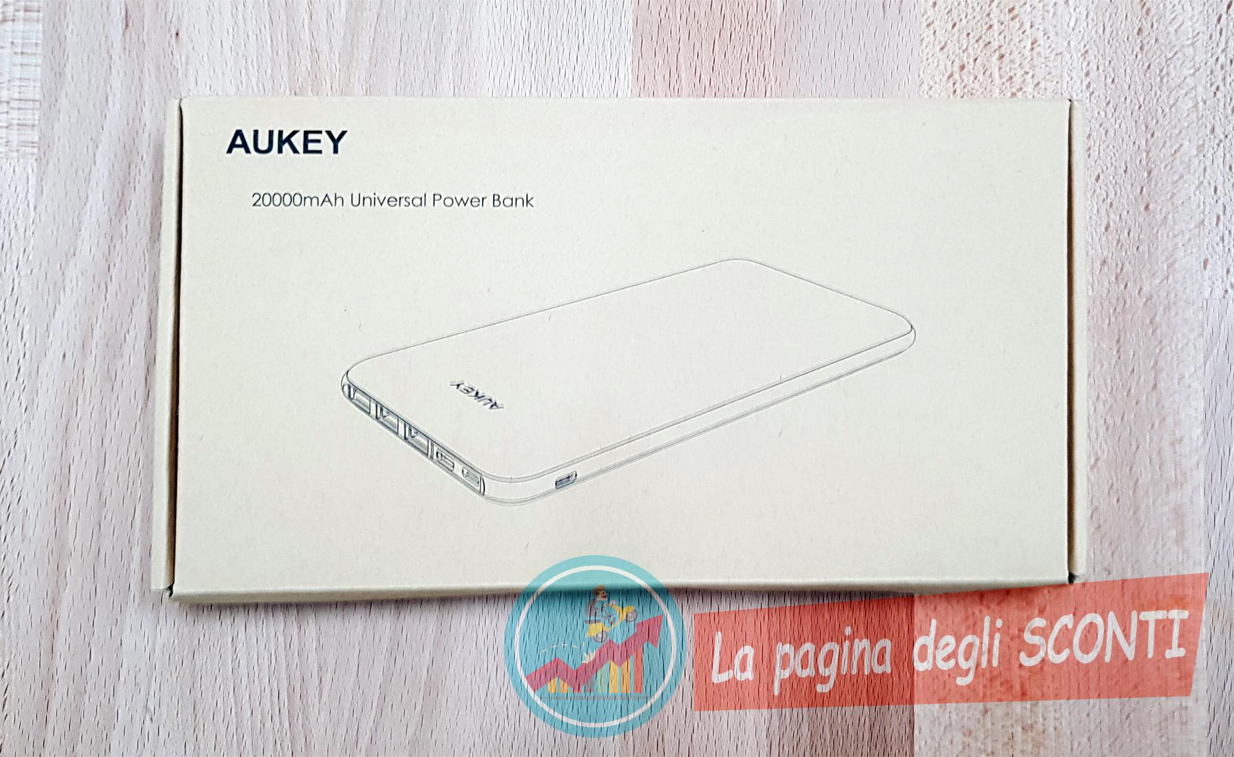 powerbank Aukey 20000mAh
