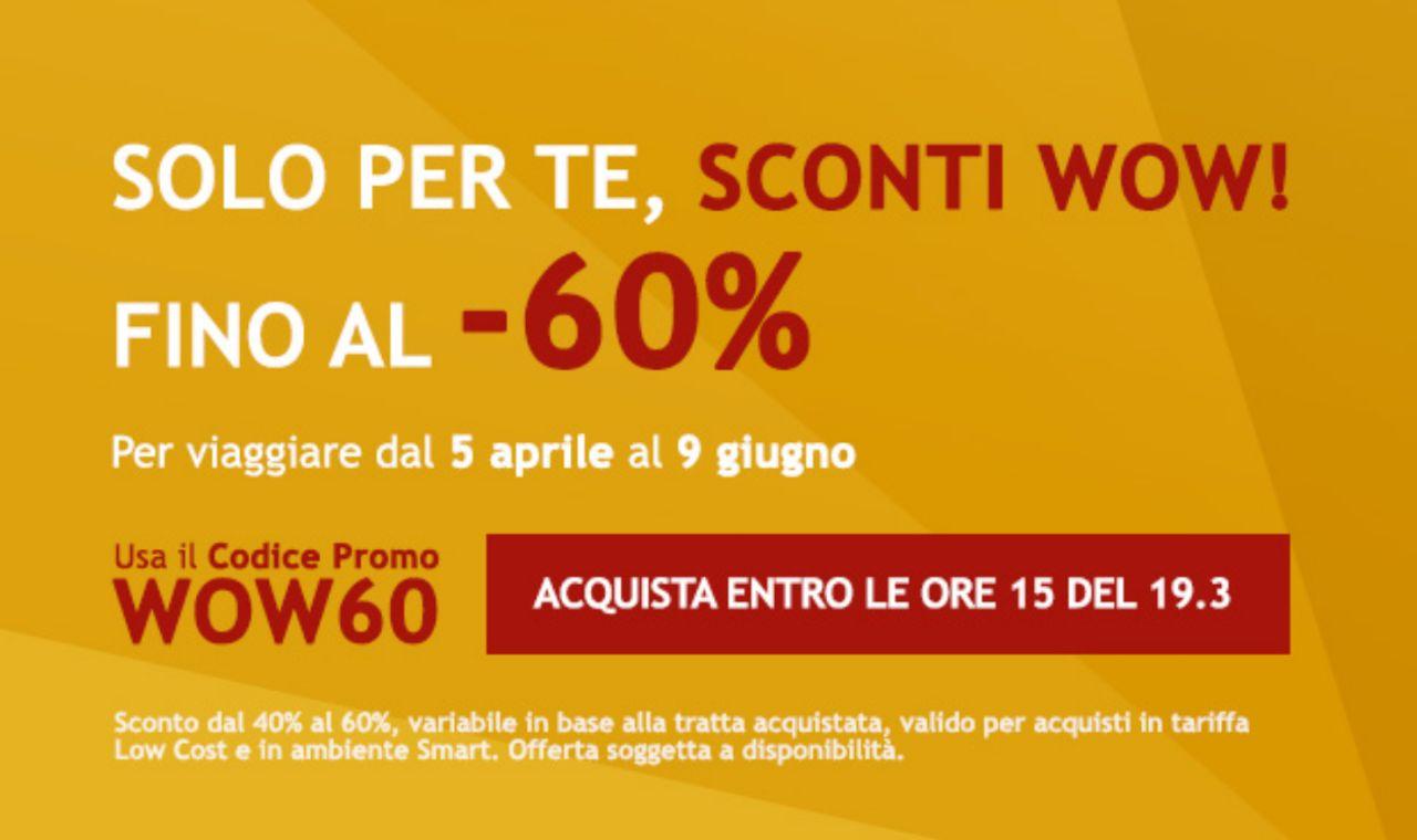 Italotreno: Sconti Wow
