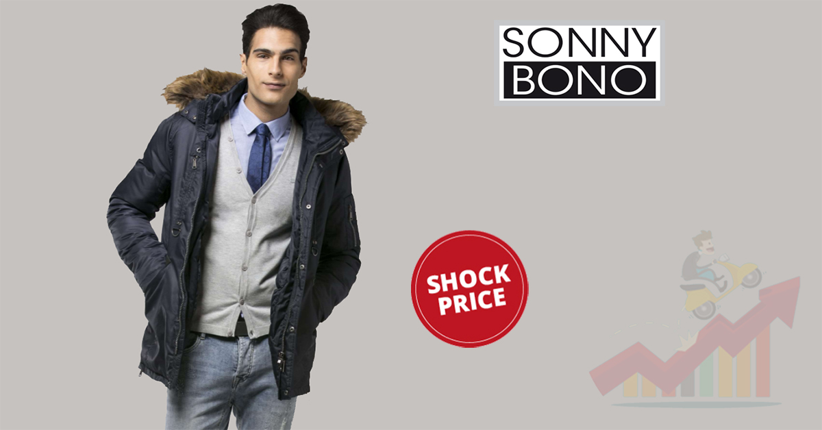 official photos 85ae4 eedec Sonny Bono: sconti fino all'80% con gli Shock Price!