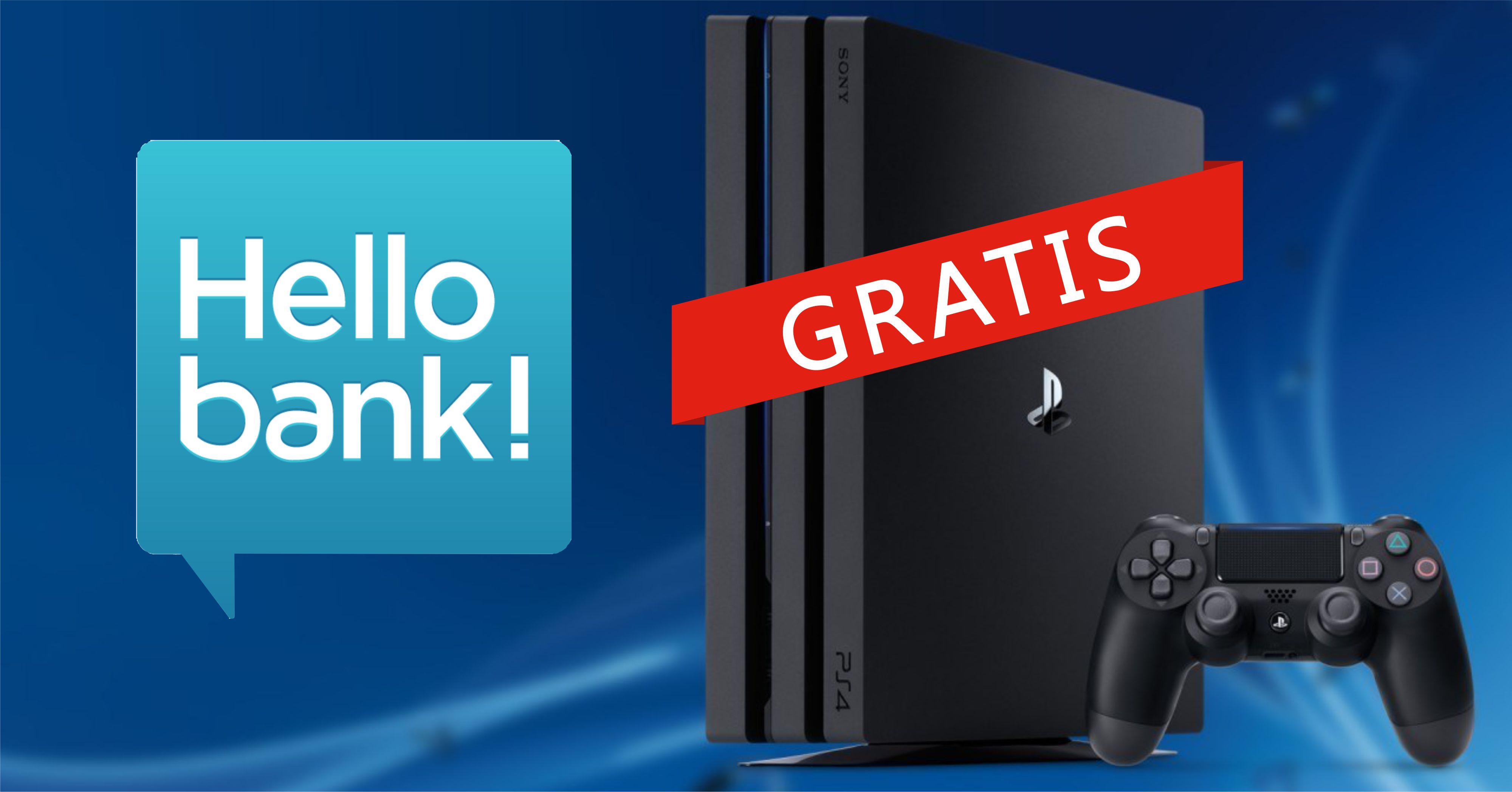 Hello bank regala una playstation 4 slim aprendo un conto - La banca piu conveniente per aprire un conto corrente ...