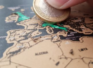 Mappa del Mondo da grattare