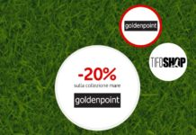 Buoni sconto GoldenPoint e Tifoshop