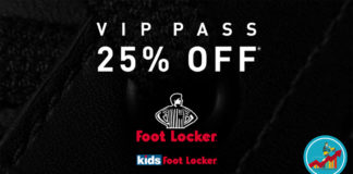 Foot Locker Vip