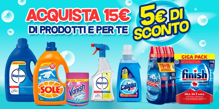 5€ di sconto Amazon Pantry