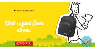 zaini seven con kinder
