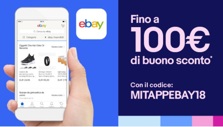 Codice sconto app eBay del 15% valido su tutto lo store! bdd6c0972b9