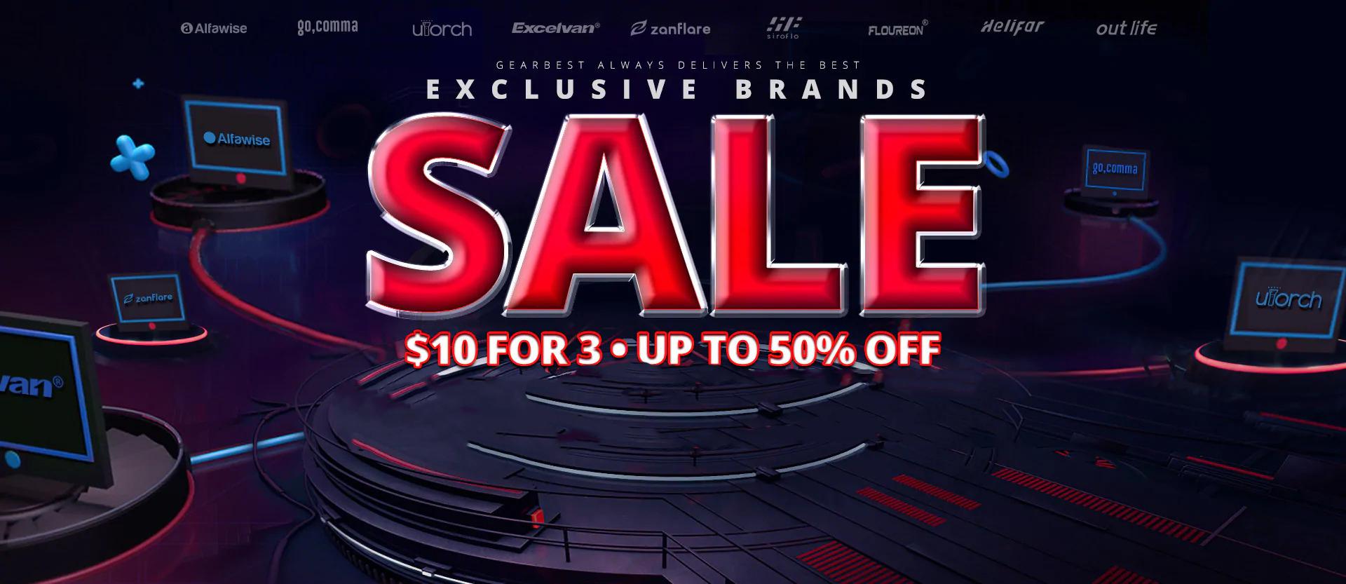 gearbest exclusive brands sale