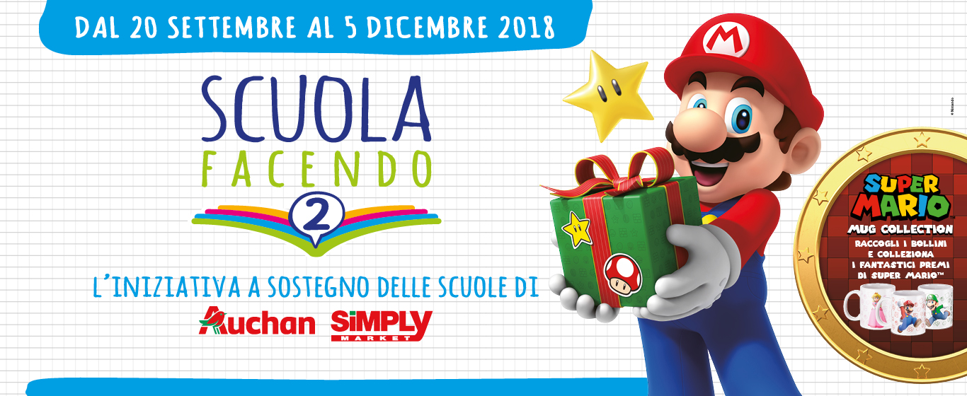 Auchan e Super Mario