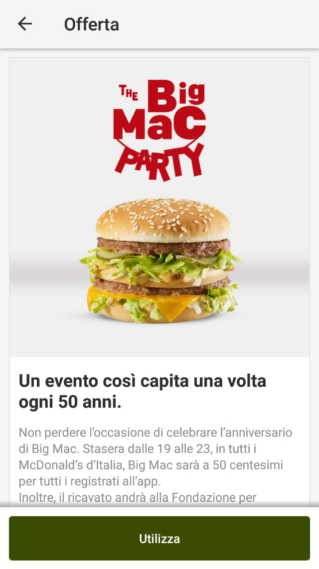 the big mac party