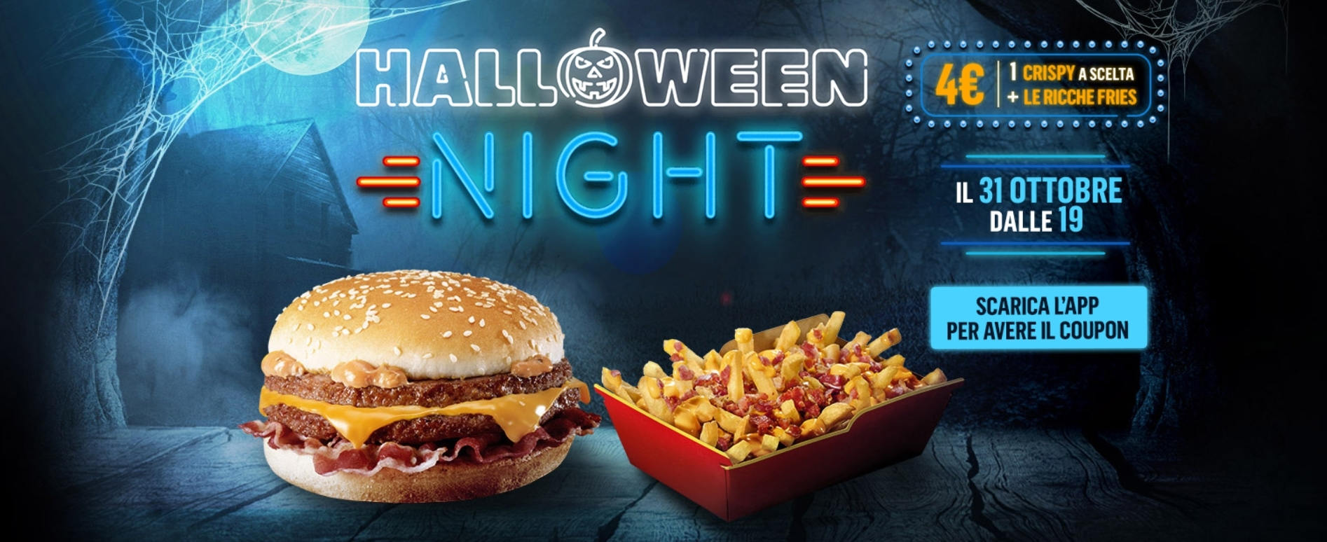 McDonald's Halloween Night