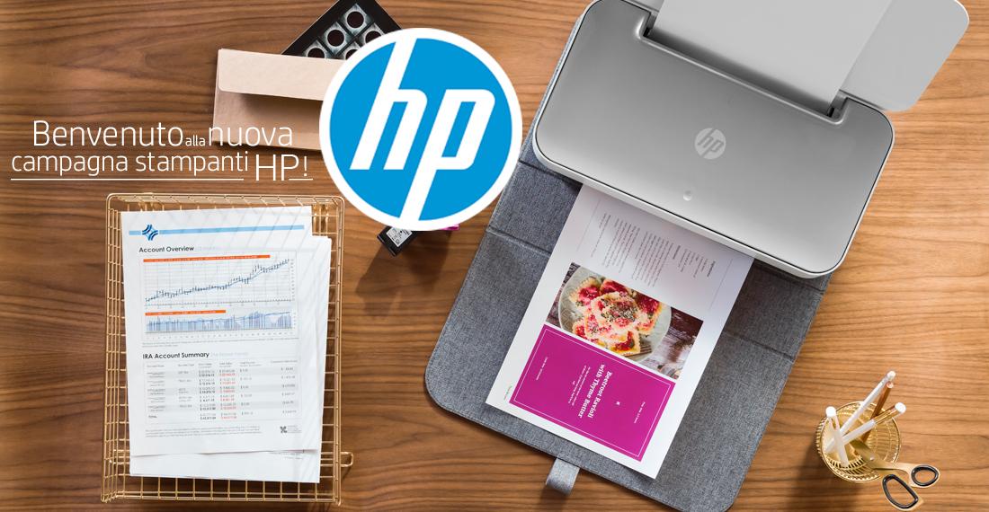 tester delle stampanti hp