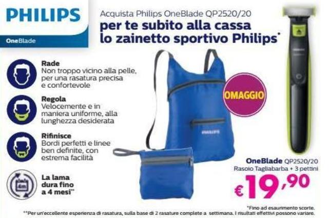 rasoio Philips One Blade