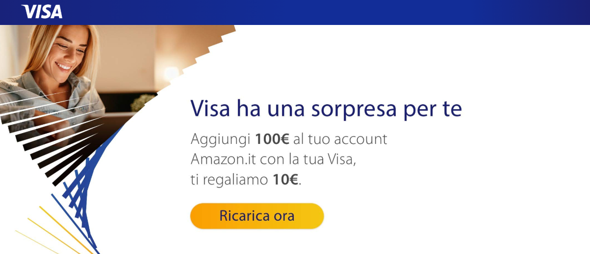 VISA regala 10€