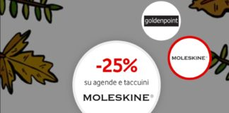 buono sconto Moleskine