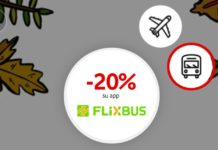 Buoni sconto Flixbus