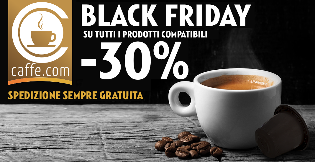 black friday caffe.com 2018