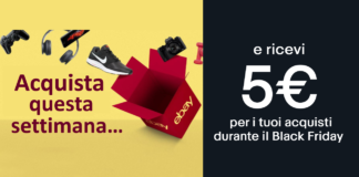 black friday con ebay extra