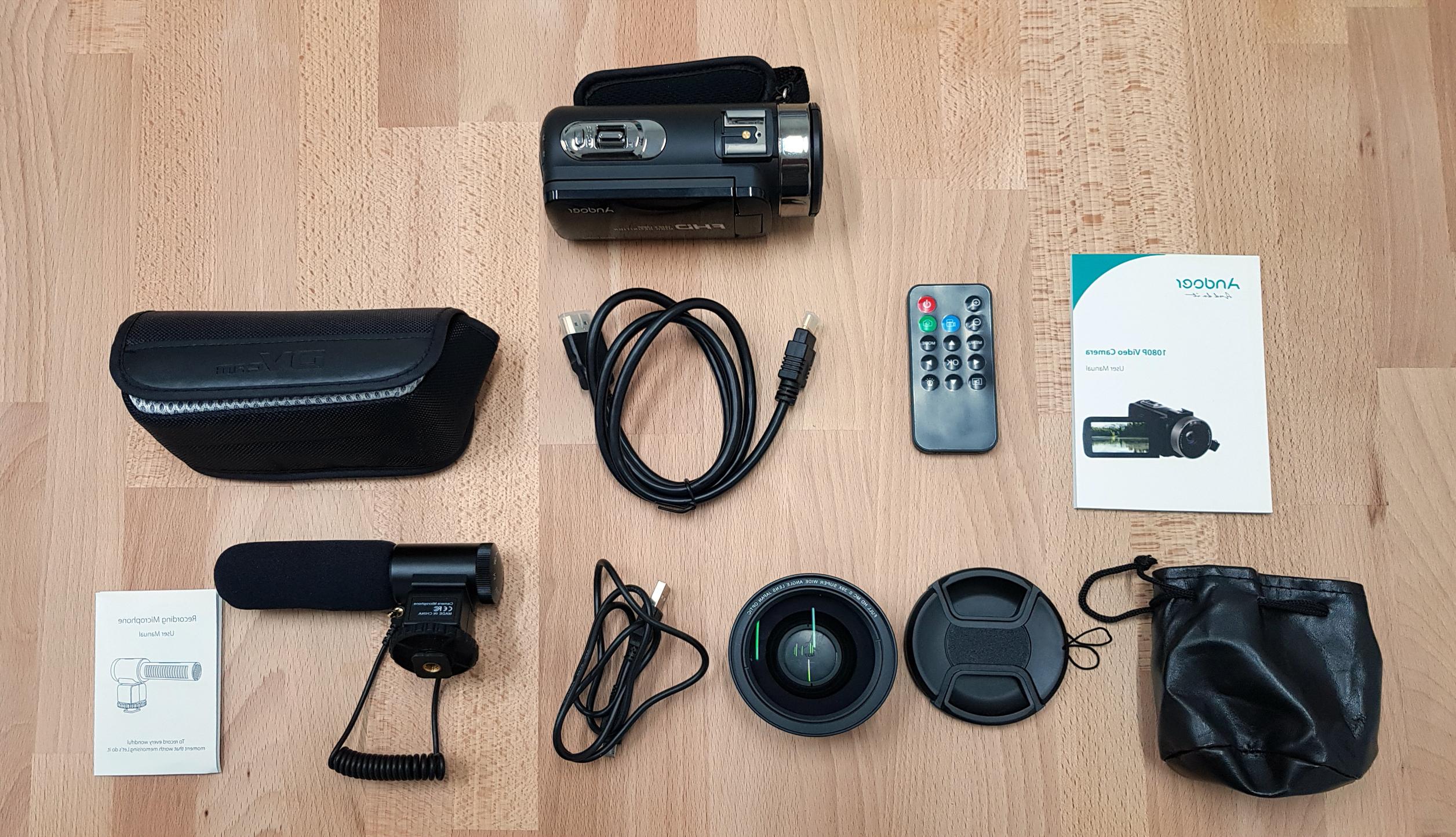 videocamere andoer