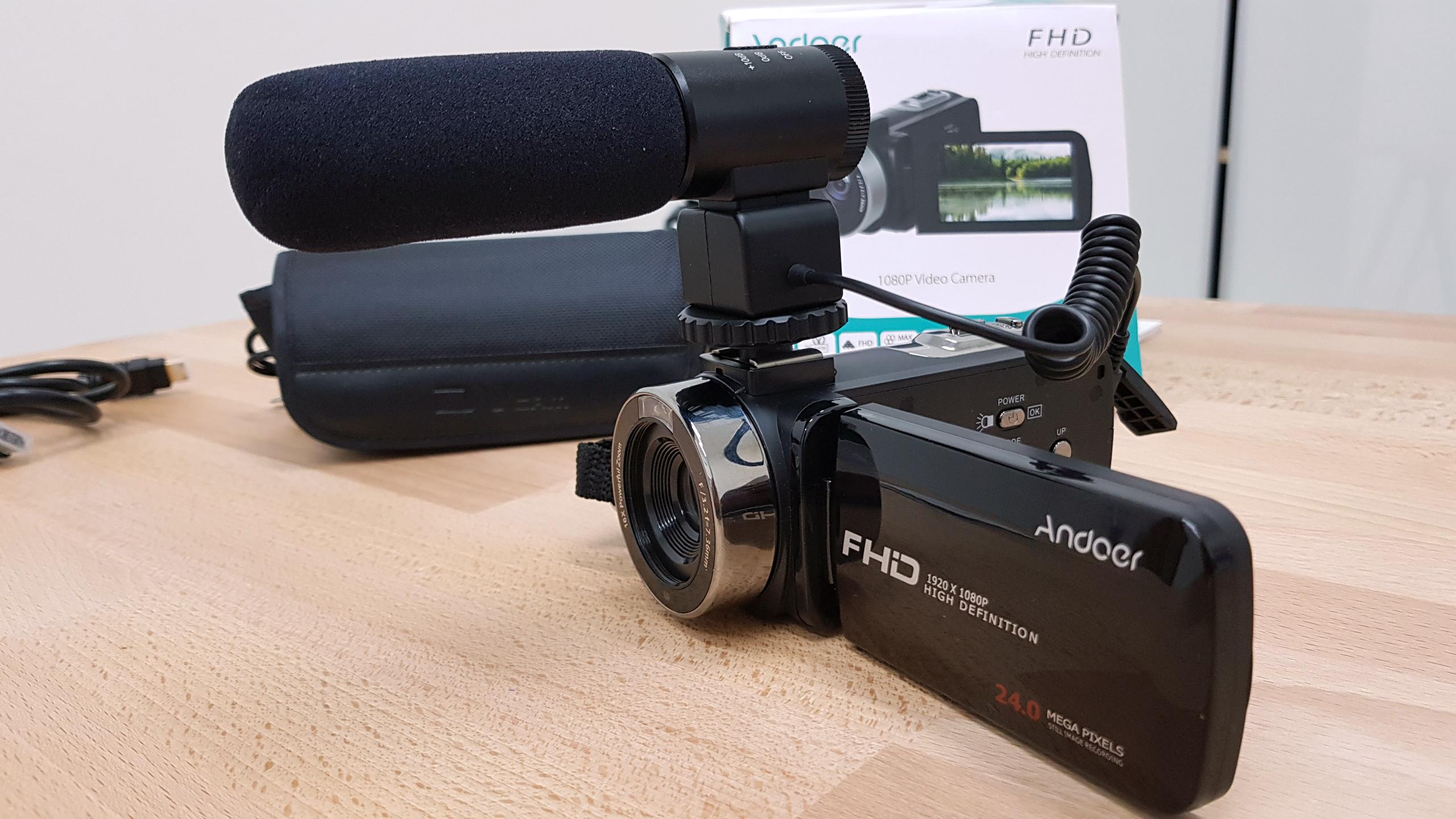 videocamera andoer