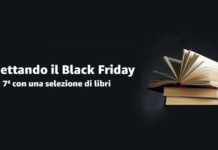 buono libri amazon per il black friday 2018