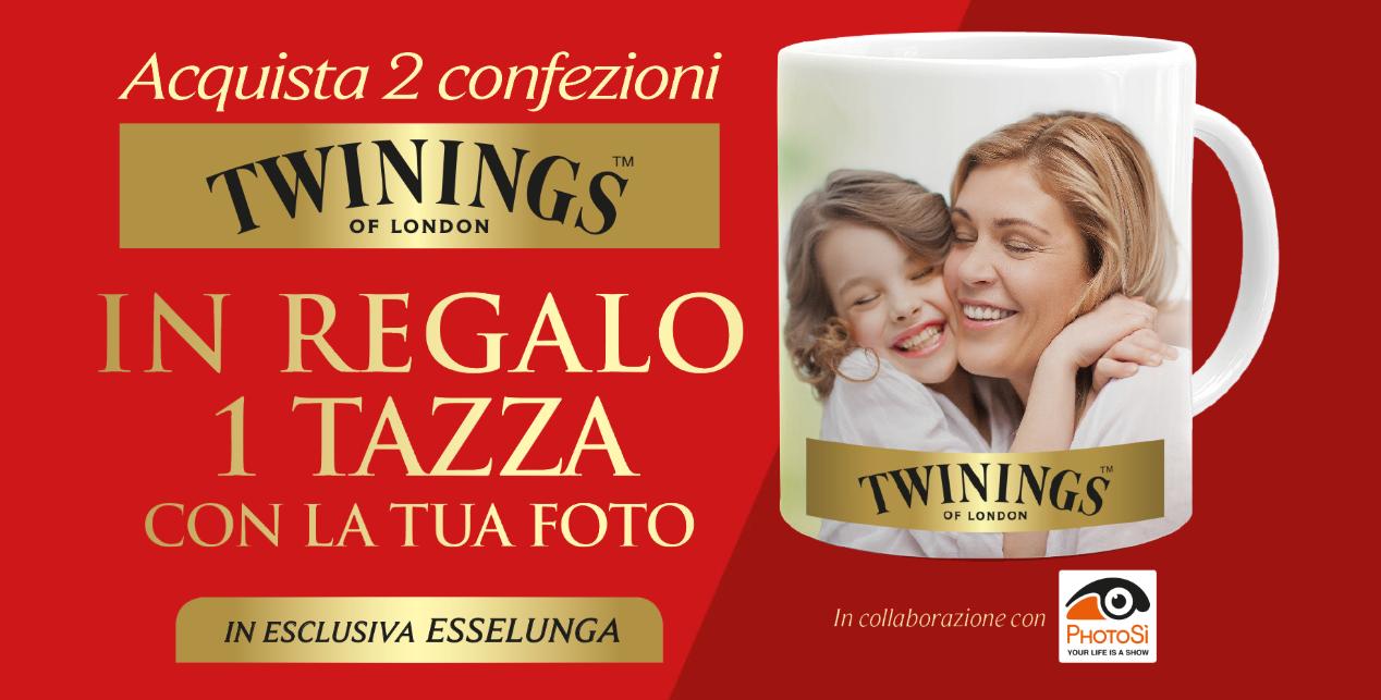 tazza personalizzata twinings