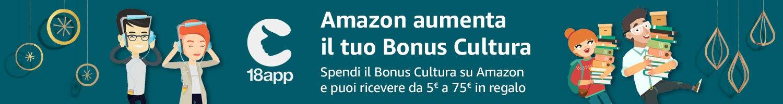 bonus cultura con amazon