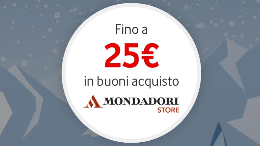 buoni sconto Mondadori fino a 25€