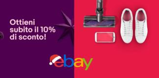 codice sconto ebay di natale 2018