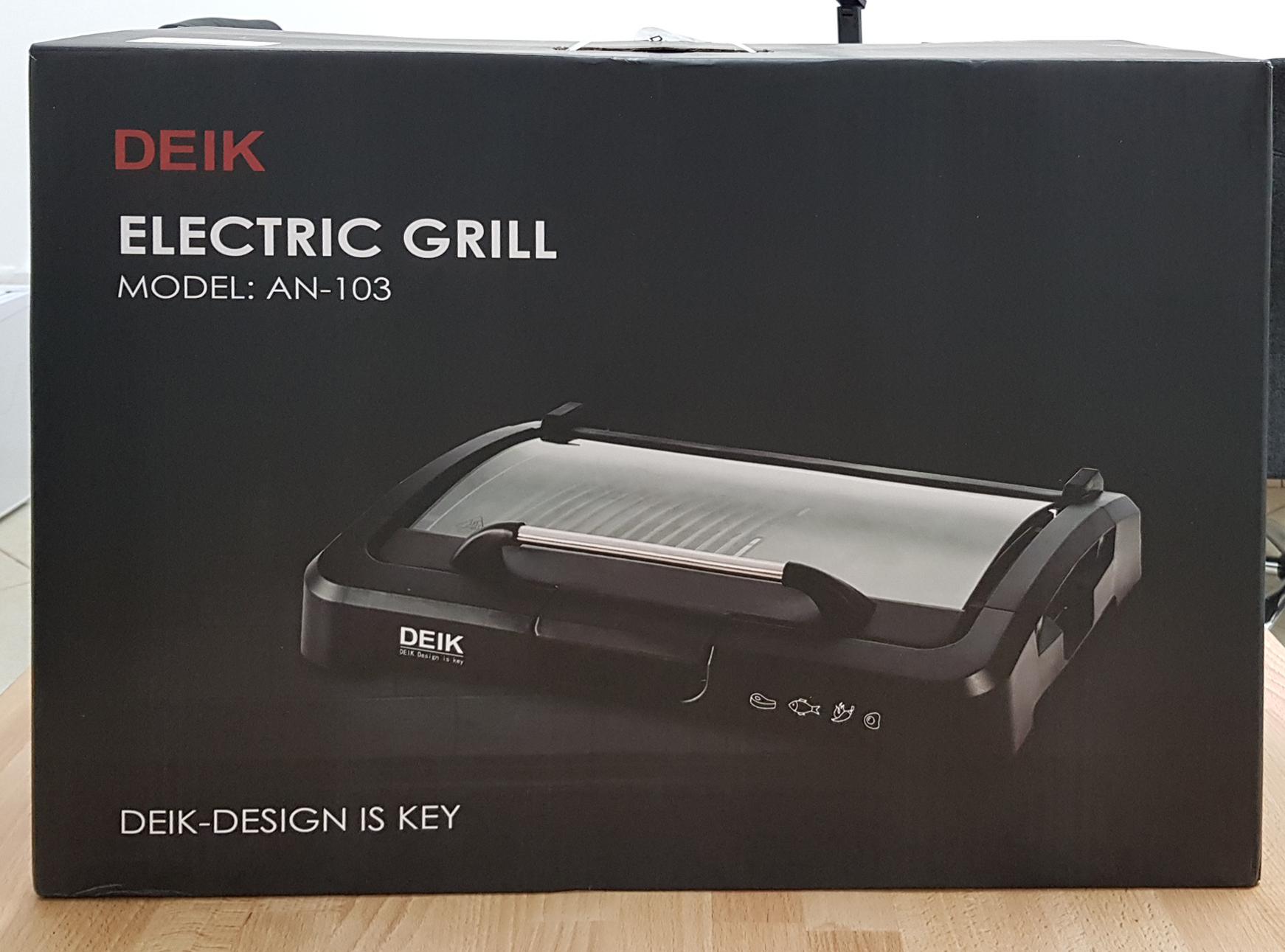 barbecue elettrico deik